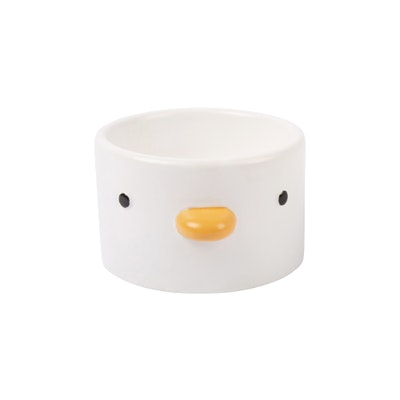 PURROOM Elevated Chick Ceramic Pet Bowl (Straight)