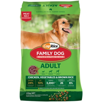 Coprice Family Dog Adult Food Chicken with Rice 20kg