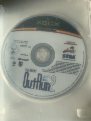 OutRun 2 by Sega Original Xbox *MINT DISC* *Like New* (disc only + with blank case)