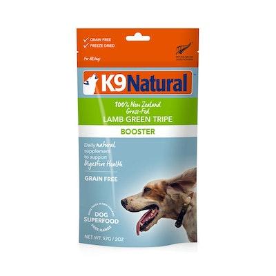 K9 Natural Lamb Green Tripe Topper 57G (Booster)