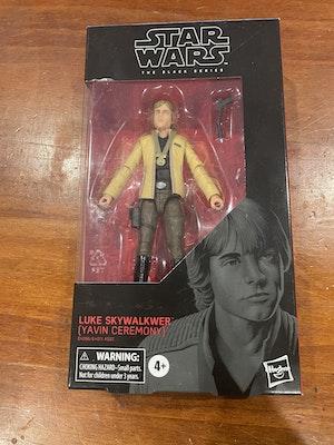 Star Wars Black series Luke Skywalkwer box #100 (misspelt variant)