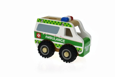 Koala Dream KD WOODEN AMBULANCE
