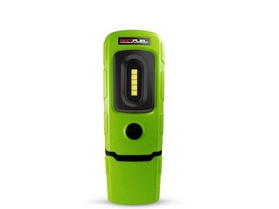 Schumacher SL26GU 3.7V 200 Lumens LED 360° Swivel Rechargeable Mini Lithium Ion Green Work Light