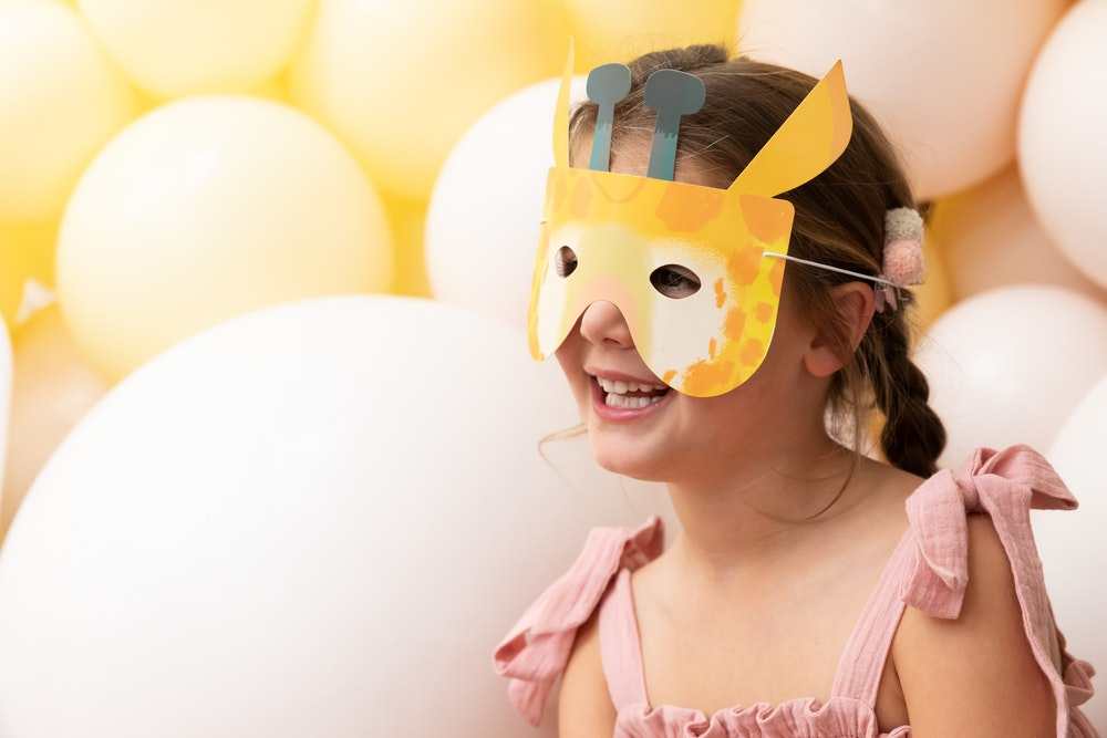 LENZO animal-themed kids first birthday party