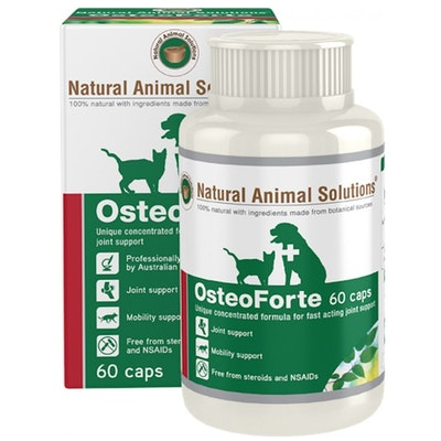 Natural Animal Solutions Nas Osteoforte Animal Joint Supplement 60 Caps