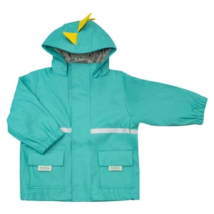 Silly Billyz Waterproof Aqua Dino Jacket
