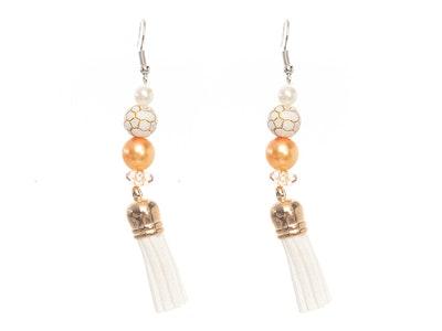 Rayhana's Store Sydney Beaded Tassel Earrings