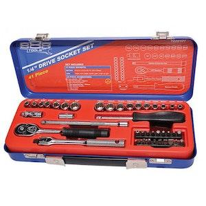 "T820101 Socket Set 1/4"" Dr 41 Piece METRIC/SAE T820101"