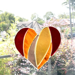 Suncatcher   Sunny Love Heart