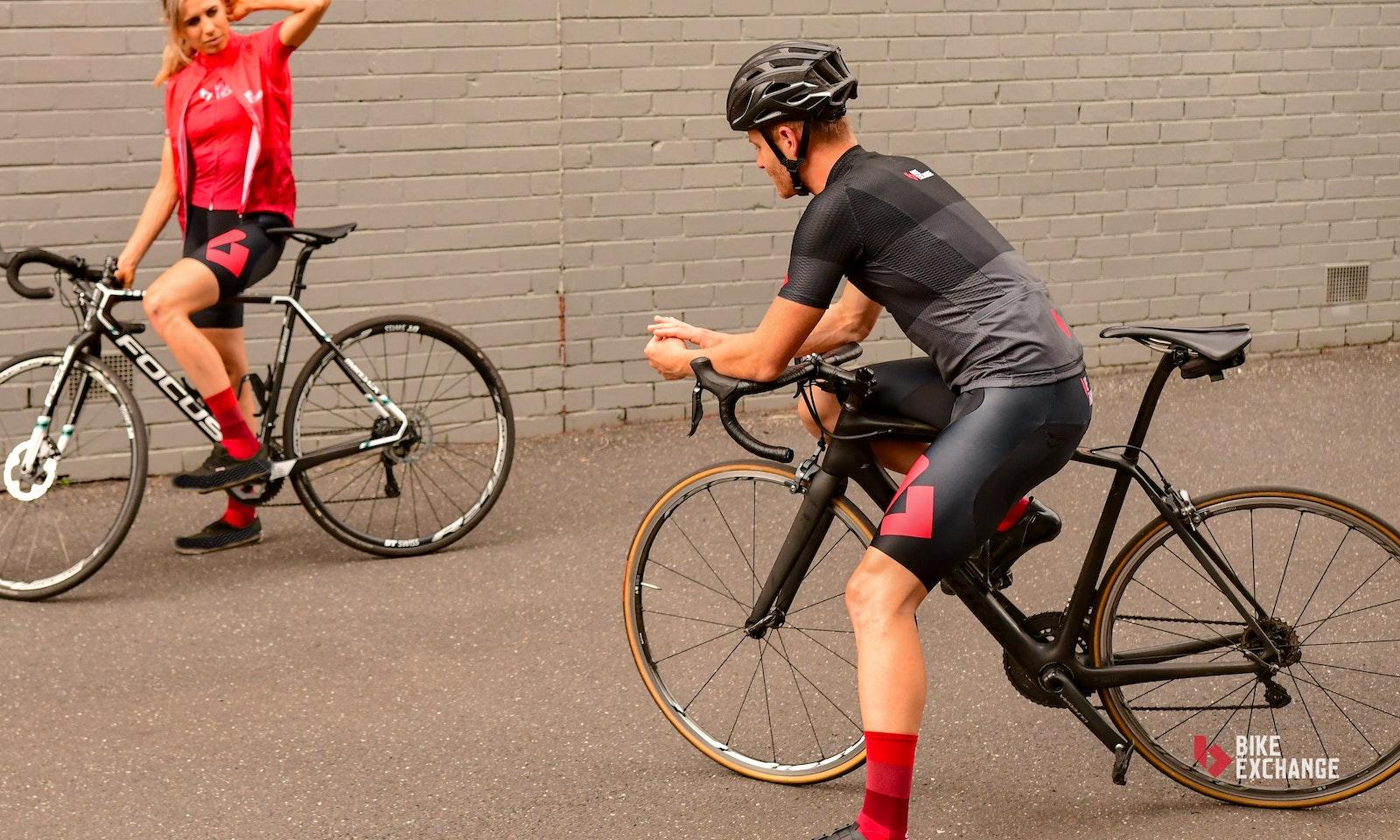 Cuore Team BikeExchange riding jersey (womens)  7b5d25a25