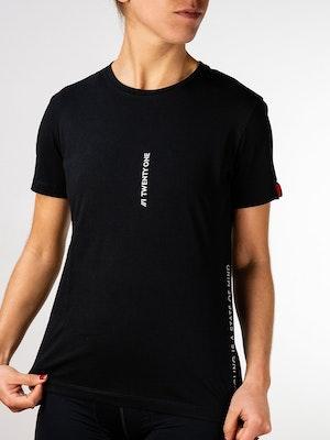 Twenty One Cycling Urban Organic Limited Edition t-shirt - Black - Women