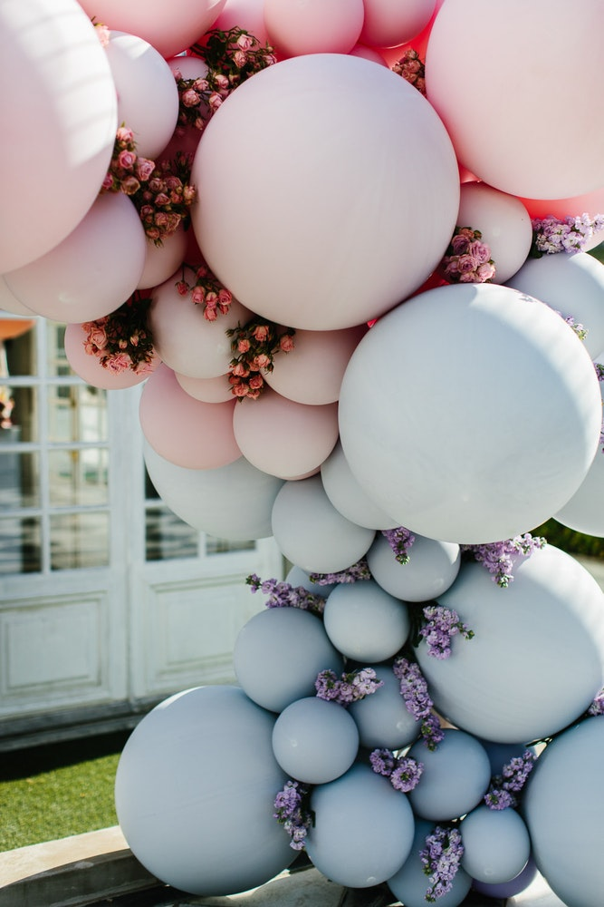 Belle Balloons Wedding Ceremony Arch