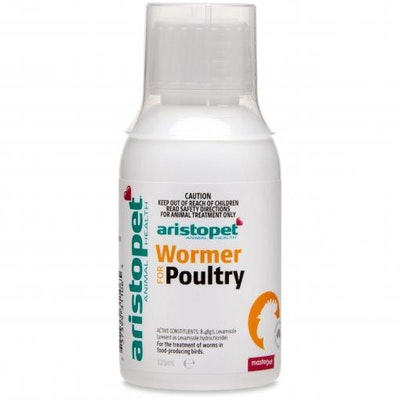 Aristopet Poultry Wormer - 125ml