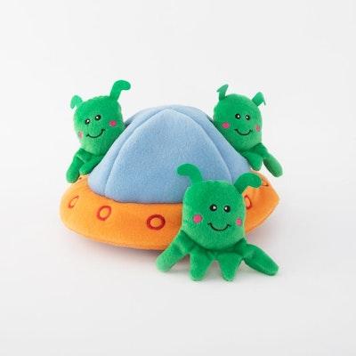 Zippy Paws Burrow Aliens In Ufo