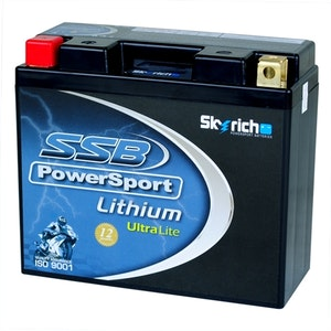 SSB Powersport Lithium Ultralight Battery (LFP12B-4)