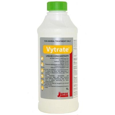 Jurox Vytrate Liquid Animal Rehydration Treatment 1L