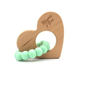 On Chic Baby Clothes Circle My Heart Teether