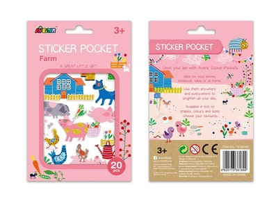 Avenir - Sticker Pocket - Farm