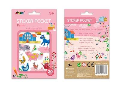 Avenir - Sticker Pocket - Farm