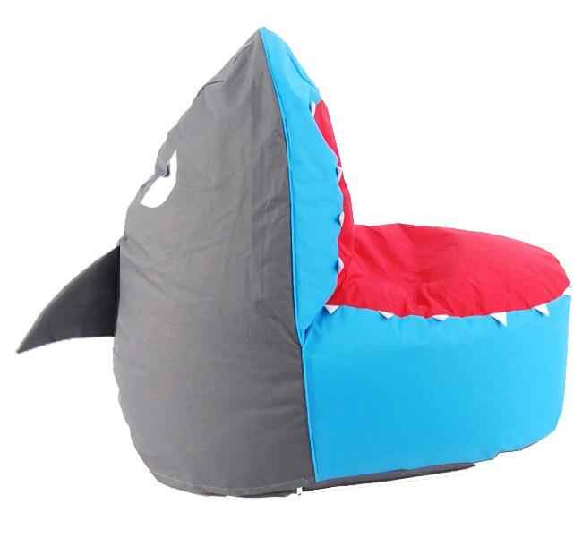mini beanz finn the shark bean bag kids bean bags for sale in. Black Bedroom Furniture Sets. Home Design Ideas