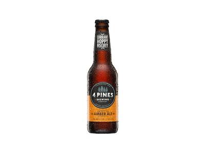 4 Pines American Amber Ale Bottle 330mL