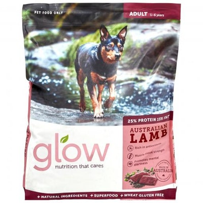 GLOW Adult Australian Lamb Dry Dog Food 10kg