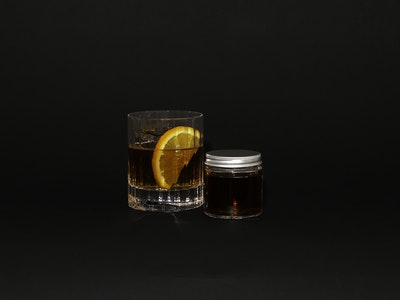 Rum and Chocolate Old Fashioned
