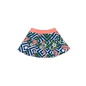 OETEO Australia Blush Floral Playtime Skirt