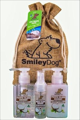 Smiley Dog Gift Pack Coconut