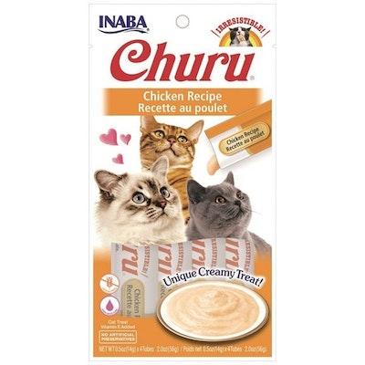 INABA Churu Creamy Cat Treat Chicken Recipe 6 x 56g