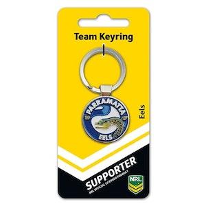 Creative Keys NRL Team Logo Key Ring - Parramatta Eels