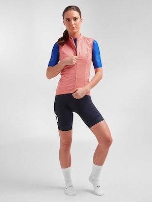 Black Sheep Cycling Women's Essentials TEAM Vest - Coral Hatch