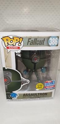 Assaultron pop vinyl from fallout