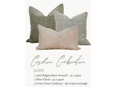 Styled Cushion Package - Alpine