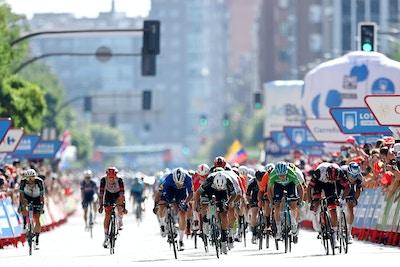Un Tercer Lugar muy Reñido para Matthews en una la Segunda Etapa de La Vuelta a España