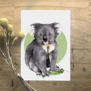artbrush Oz Series 'KOALA' print