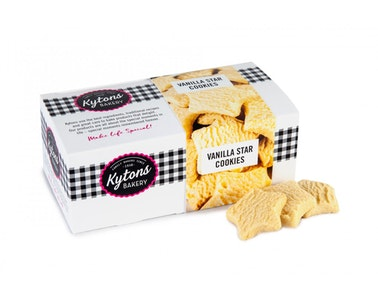 Kytons Vanilla Star Cookies 150g