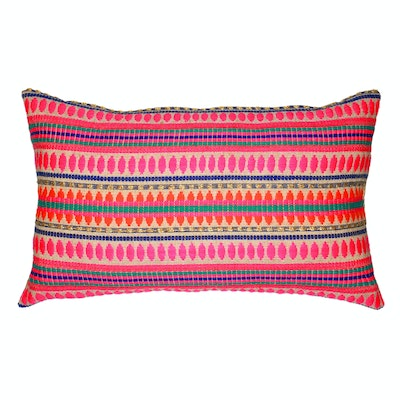 Global Sisters Shop Indie Cushion Cover - Oblong - fuchsia