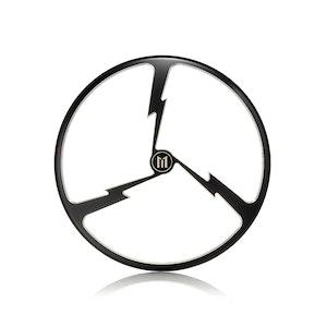 """7"""" Metal Tri-Bolt Design Grill - Black Contrast Cut"""