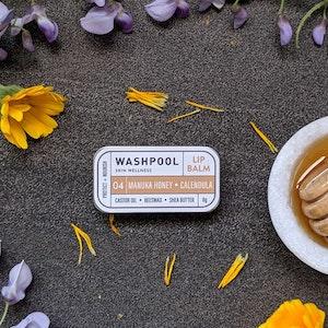 Manuka Honey · Calendula Lip Balm Tin [LX4]