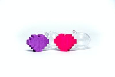 Happy Deko Heart Floaters