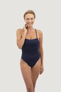 1 People Byron Bay One-Piece Swimsuit in Deep Sea Blue