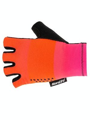 Santini Fortuna Gloves Atomic Orange