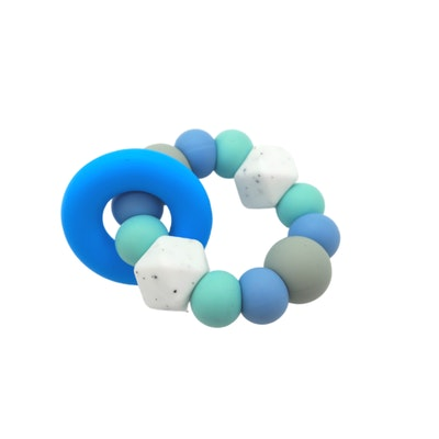 On Chic Baby Clothes Mama & Boo – Freeze Me Teether – Blue