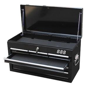 T840101 Tool Box 6 Drawer Lockable Black T840101