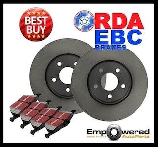 REAR DISC BRAKE ROTORS+PADS for Audi A1 8X 1.2T Sportsback *232mm* 6/2012-5/2015