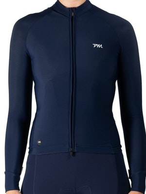 Pedal Mafia Women's Pro Thermal Jacket - Navy