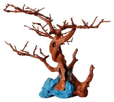 Aqua One Hermit Crab Climbing Branches & Blue Rock 24.5x18x19cmz