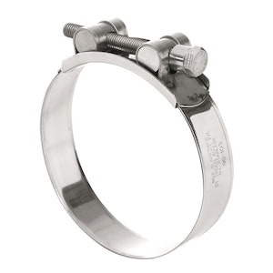 Tridon T-Bolt Hose Clamp All Stainless Solid Band 29mm - 31mm 10pk