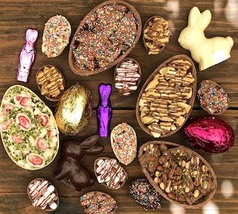 Mini Easter Egg - Milk Chocolate Nutlovers